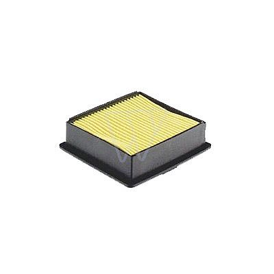 Luftfilter flach inkl. Vorfilter passend f�r GS130, L�nge 110mm, Breite 100mm, H�he 30mm