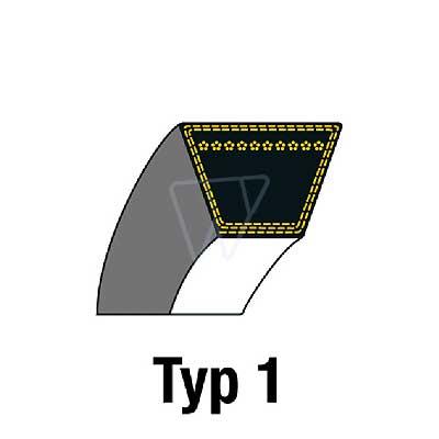 CASTEL-GARDEN 35062812//0 35062814//0 Keilriemen für TC122 Aufsitzmäher Motor